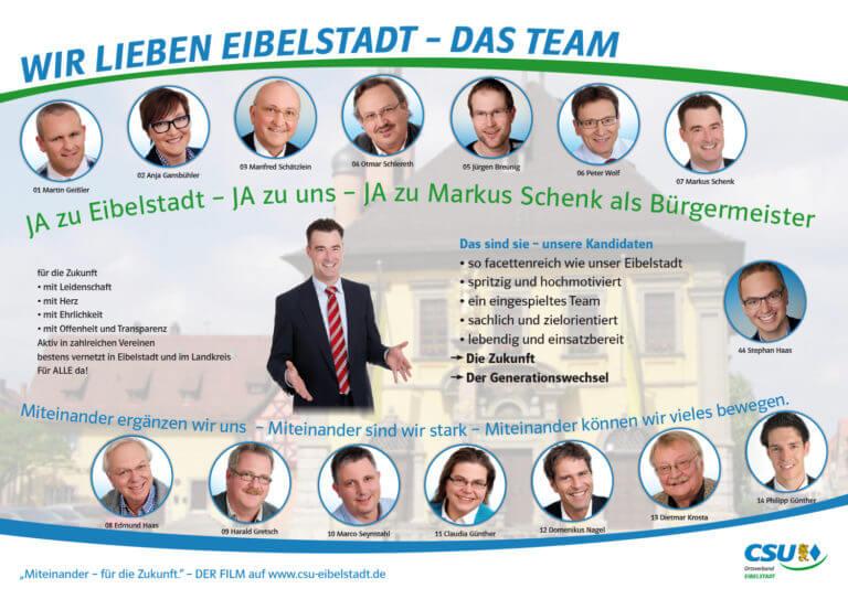 CSU Eibelstadt Flyer 2014