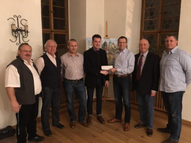 Spendenübergabe CSU Eibelstadt
