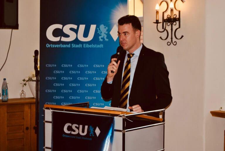 Neujahrsempfang CSU Eibelstadt Markus Schenk