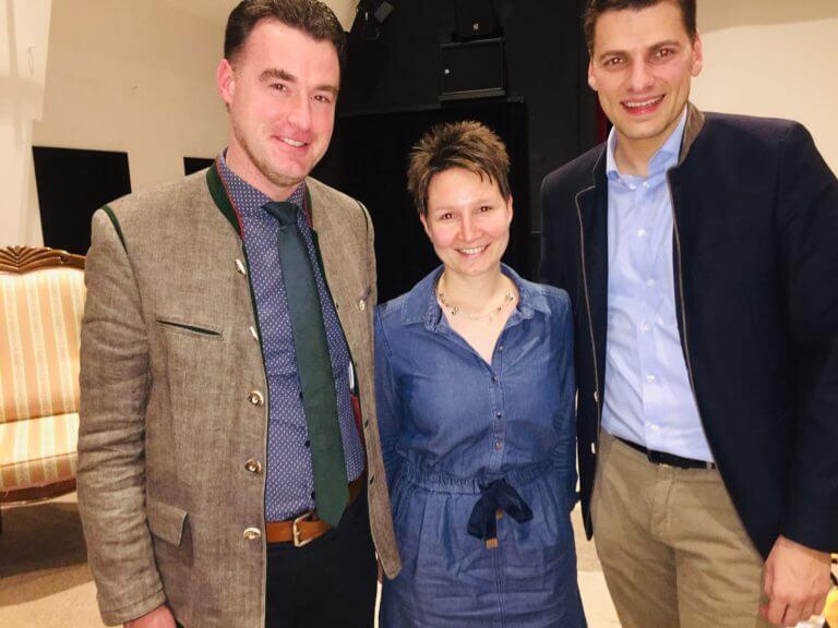 Markus Schenk, Martina Schmidt und Christian Staat