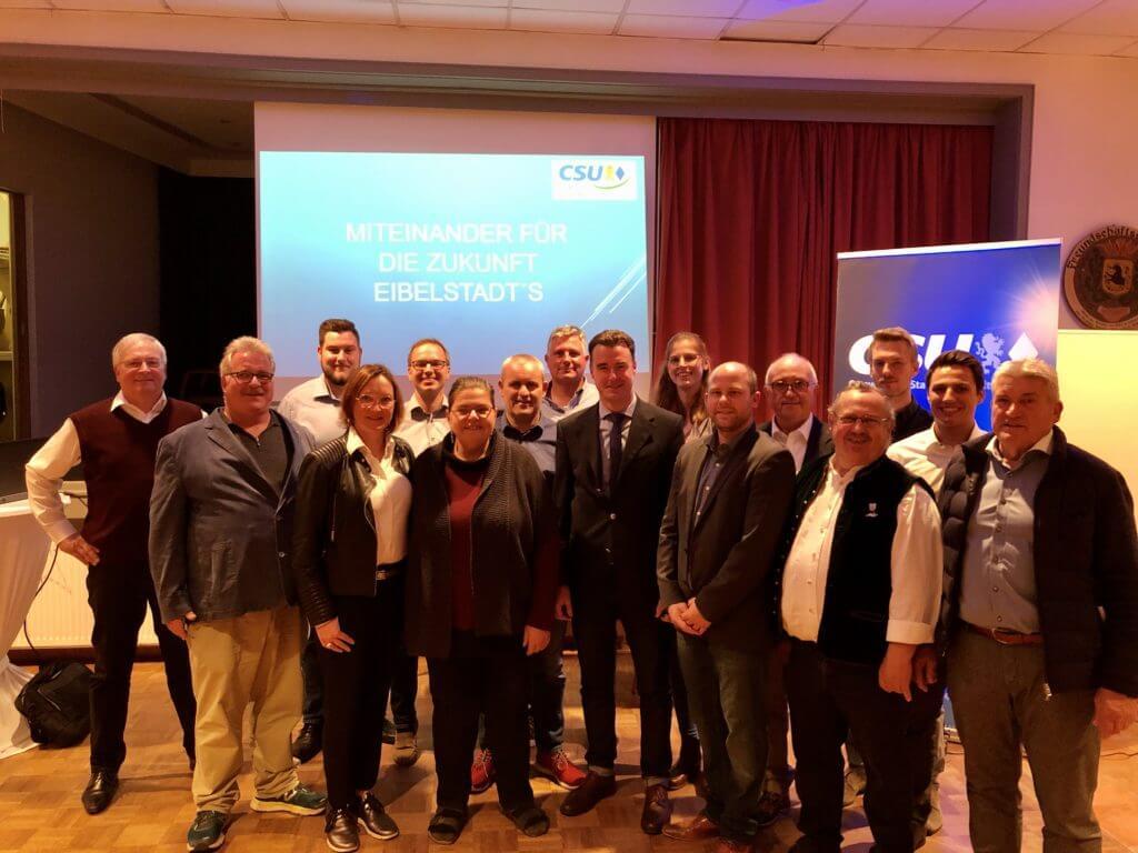 Team CSU Eibelstadt Kommunalwahl 2020