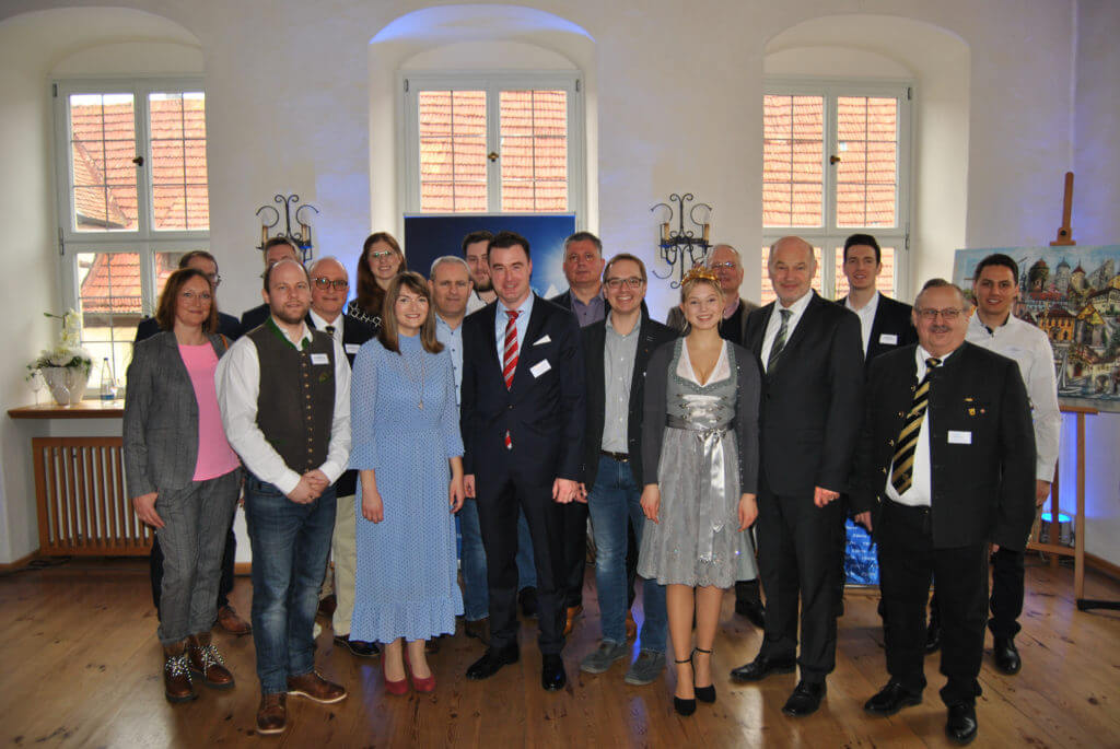 Gruppenfoto mit allen Kandidaten zur Kommunalwahl 2020