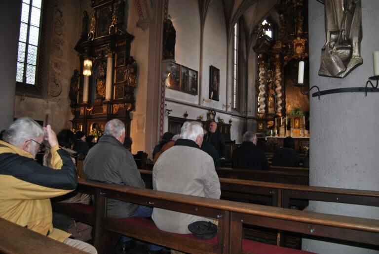 Dachstuhl Kirche Eibelstadt